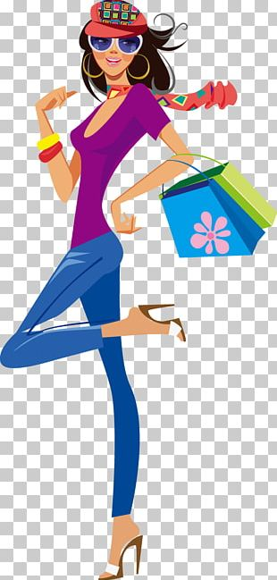 Shopping Clothing Illustration PNG