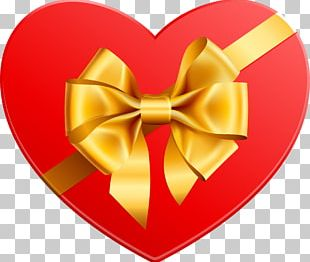 Gift Heart Valentine's Day PNG