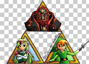 Triforce Courage Eustace Bagge The Legend Of Zelda PNG