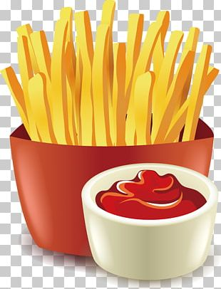 Doughnut Fast Food Hot Dog Pizza French Fries PNG