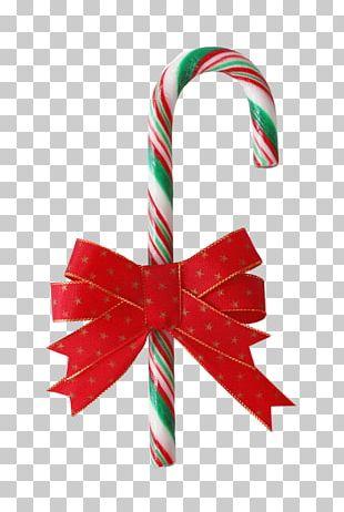 Candy Cane Christmas Caramel Bastone PNG