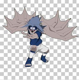 Sasuke Uchiha Sello Maldito Fan Art Illustration PNG