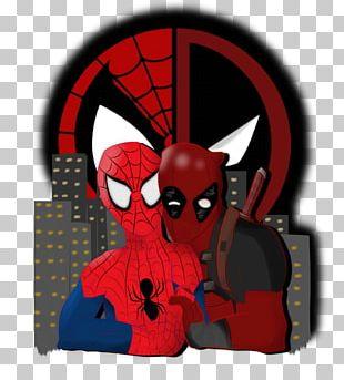 Spider-Man Deadpool Art Comic Book Comics PNG