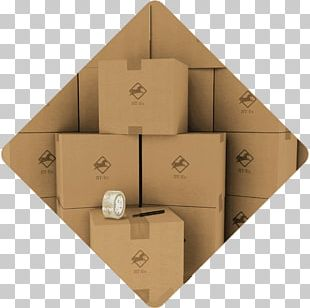 Packaging And Labeling Mover Cardboard Box Relocation PNG