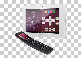 Crestron Electronics Information Display Device Touchscreen PNG
