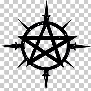 Book Of Shadows Symbol Wicca Pentagram Witchcraft PNG