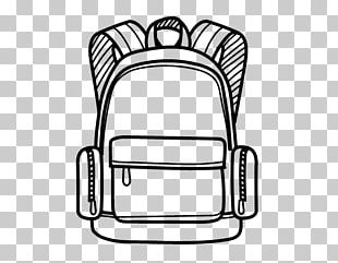 Backpack Drawing Coloring Book School PNG