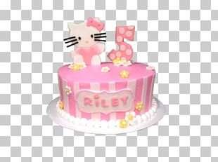 Birthday Cake Frosting & Icing Sugar Cake Torte Hello Kitty PNG