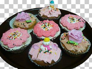 Cupcake Muffin Royal Icing Buttercream Baking PNG