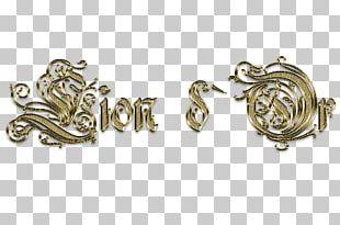 Earring Jewellery Metal Silver PNG