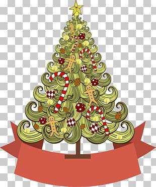Christmas Tree Poster Christmas Card Christmas Ornament PNG