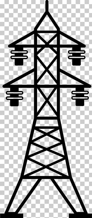 Electric Power Transmission Transmission Tower Electricity Overhead Power Line PNG