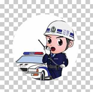 Police Officer Car Parking Enforcement Officer Traffic China PNG