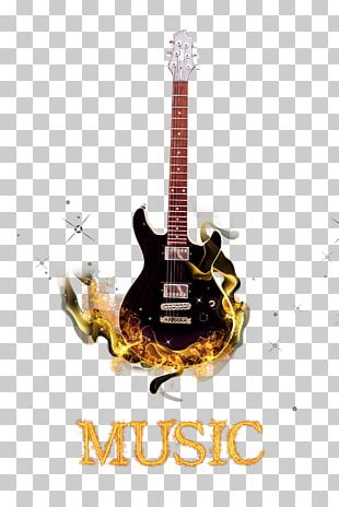 Electric Guitar Musical Instrument PNG