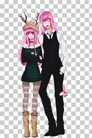Costume Pink M Character Fiction PNG