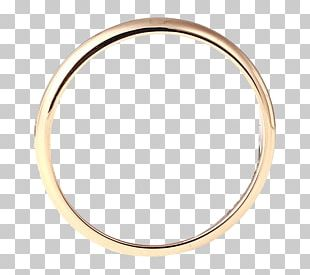 Gold Circle Jewellery PNG