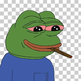 Pepe The Frog T-shirt Smoking Blunt PNG