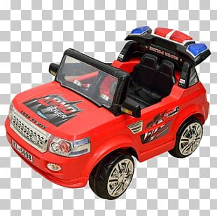 Police Car Toy PNG