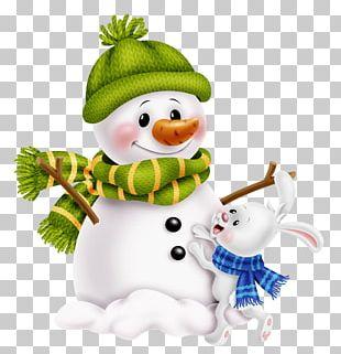 Santa Claus Snowman Christmas Day PNG
