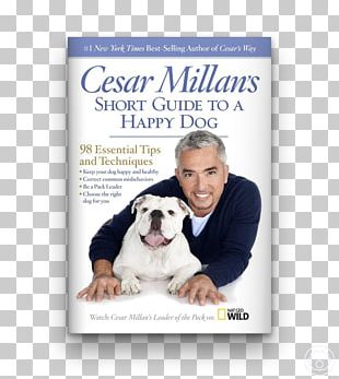 Dog Whisperer With Cesar Millan Cesar Millan's Lessons From The Pack: Stories Of The Dogs Who Changed My Life Cesar's Way Be The Pack Leader PNG