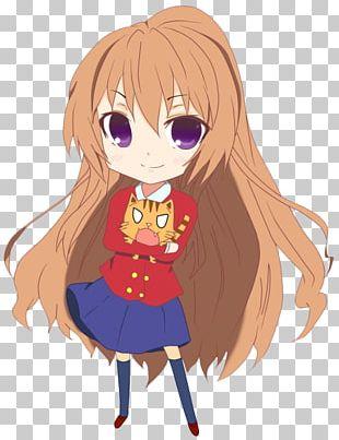 Taiga Aisaka Chibi Toradora! Anime Drawing PNG