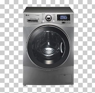 Washing Machines LG Electronics LG G4 LG 12KG Front Load Washing Machine Clothes Dryer PNG