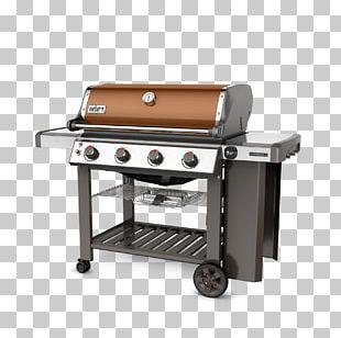 Weber Genesis II E-410 Barbecue Weber-Stephen Products Propane Gas Burner PNG