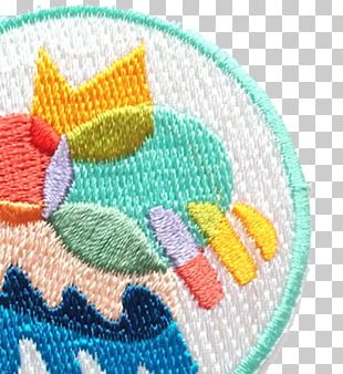 Embroidered Patch Iron-on Embroidery Sewing Cross-stitch PNG