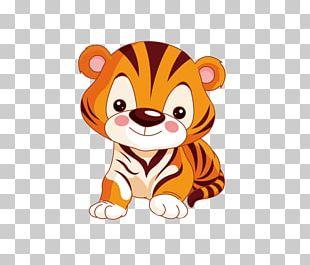 Tiger Animation Child Animal PNG
