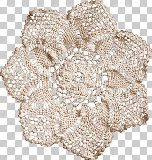 Doily Place Mats Crochet Textile PNG