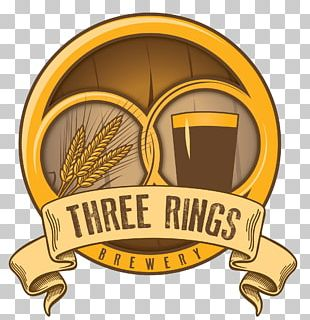 Three Rings Brewery Beer Brewing Grains & Malts City Brewing Company PNG