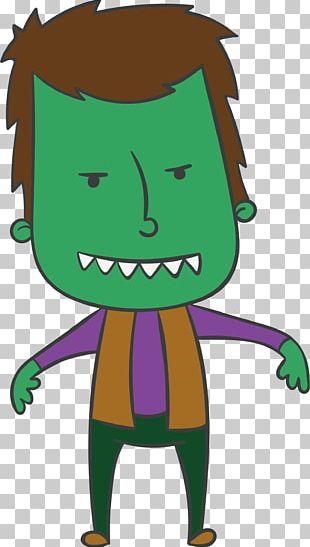 Halloween Vampire Euclidean PNG