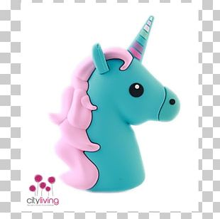 Battery Charger Apple IPhone 8 Plus Unicorn Baterie Externă Emoji PNG