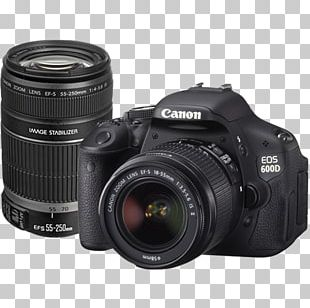 Canon EOS 600D Canon EOS 700D Canon EF-S 18–55mm Lens Digital SLR PNG