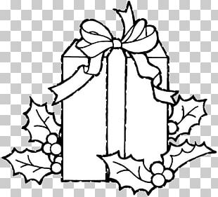 Christmas Gift Coloring Book Child PNG