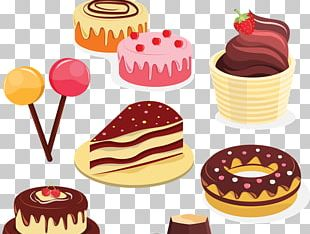 Frosting & Icing Layer Cake Petit Four Torte Birthday Cake PNG