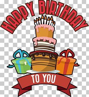 Birthday Cake Gift PNG