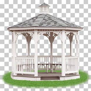 Gazebo Table Pergola Roof Garden PNG
