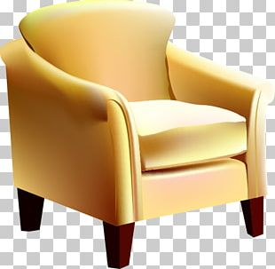 Couch Furniture Club Chair PNG