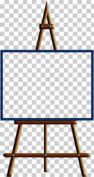 Easel Painting Art PNG