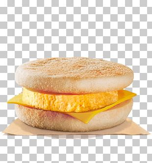 Breakfast Sandwich Cheeseburger Hamburger Fast Food English Muffin PNG