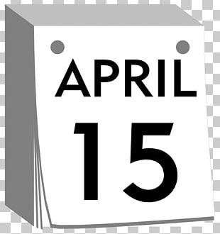 Calendar April Fools Day April 1 PNG