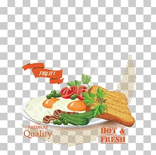 Full Breakfast Graphic Design Poster PNG