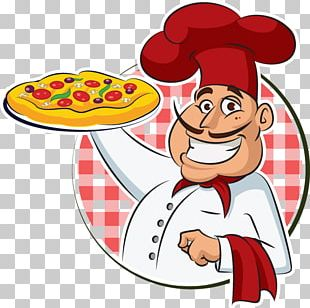 Pizza Italian Cuisine Chef Cooking PNG