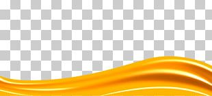 Ribbon Text Orange PNG