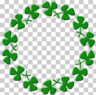 Saint Patrick's Day Shamrock Irish People Seal PNG
