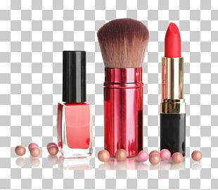 Lipstick Cosmetics Brush PNG