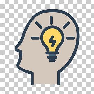Incandescent Light Bulb Brain Computer Icons Idea PNG