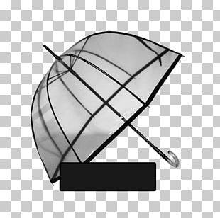 Umbrella Line Angle Leaf PNG