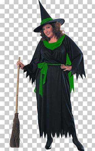 Costume Dress Disguise Hat Witch PNG